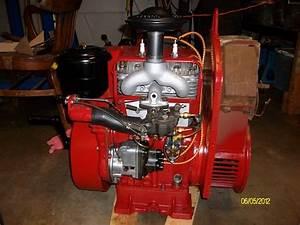 Wisconsin 4 Cylinder Gas Motor
