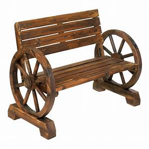 Wholesale Wagon Wheel Bench - Buy Wholesale Garden Decor