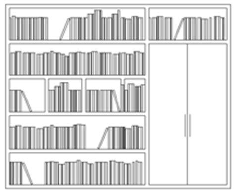 Scaffali Dwg by Librerie 2d Dwg