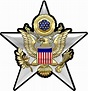 US ARMY GENERAL STAFF INSIGNIA All Metal Sign 15 x 16 ...