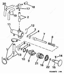 Johnson 1999 65 - J65wryeeo  Manual Primer System