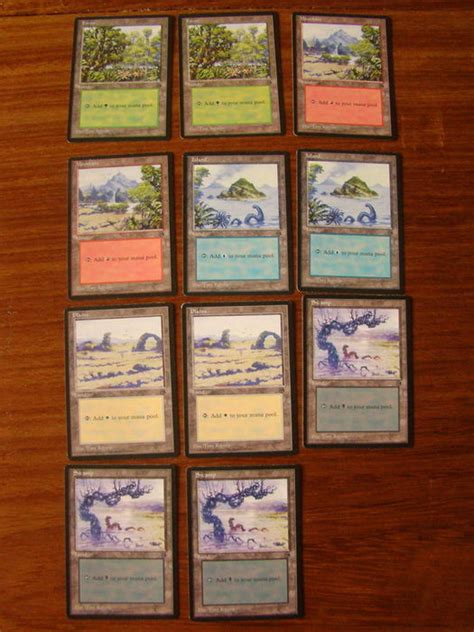 Basic landcycling 1 (1, discard this card: Magic the Gathering Lot of 11 ARENA 1996 land cards - Catawiki