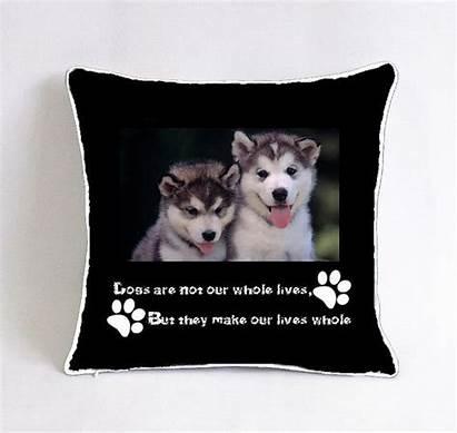 Dog Funny Bed Beds Alaskan Malamute Pillow