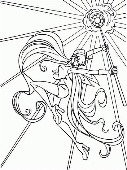 Coloring Winx Musa Printable
