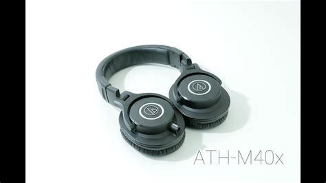 audio technica ath m40x review