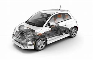 2013 Fiat 500e Body Structure And Battery Location