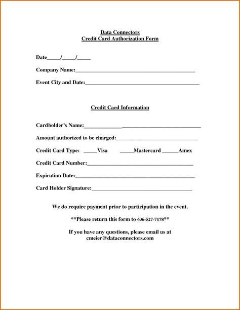 credit card authorization form fotolipcom rich image