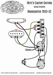 Arty U0026 39 S Custom Guitars Broadcaster Nocaster 1950