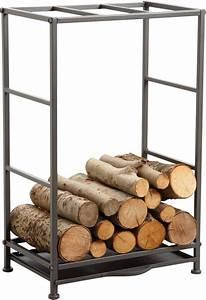 Rangement Buches Exterieur : cool rack portebches avec tiroir poussire with rangement buches exterieur ~ Melissatoandfro.com Idées de Décoration