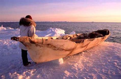 Eskimo Boat by Alaska Eskimos Archaeology Study Of The Past Care2