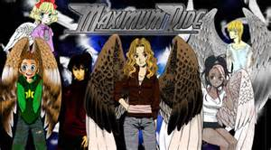 Maximum Ride MangaPoster Color by JayPrower on DeviantArt