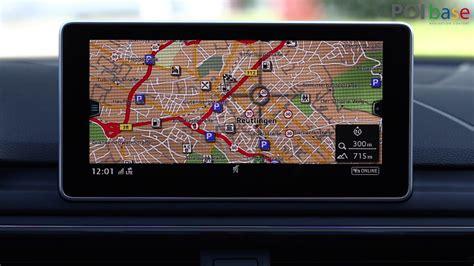 navi mit blitzerwarner blitzer und sonderziele im audi mmi touch installieren