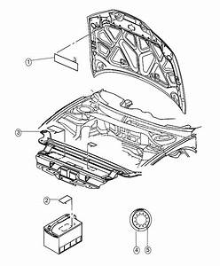 2016 Dodge Challenger Label  Air Conditioning System  Xfc