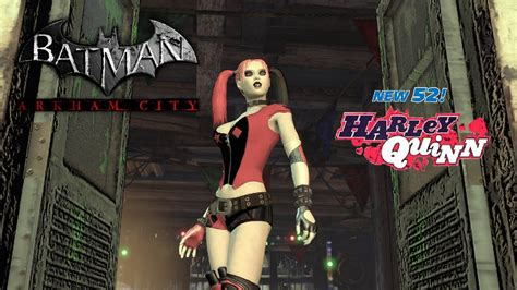 skin batman arkham city new 52 roller harley youtube