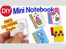 How to Make a Mini Notebook – Draw So Cute