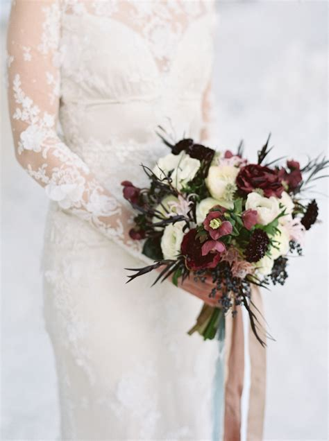 gorgeous winter wedding bouquets martha stewart weddings