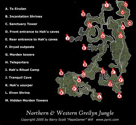 dungeon siege dungeon siege ii northern greilyn map png