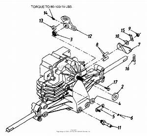 Mtd 13an699g016  1999  Parts Diagram For Transmission Complete