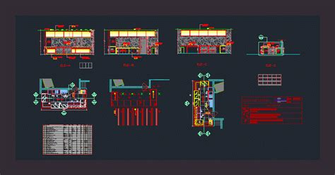 small coffee shop  autocad cad   kb
