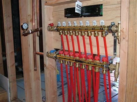 Manifold setup   Radiant Floor Heating & Cooling