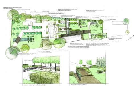 garden design drawings ascot lanscape charlotte rowe garden design