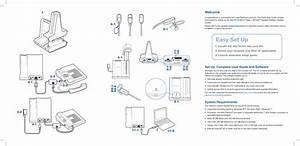 Plantronics Wo2 Wireless Communications System Base Unit