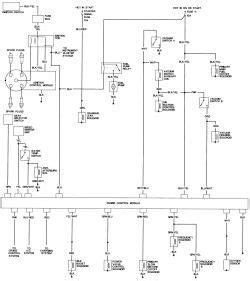 1988 Honda Accord Radio Wiring Diagram by Repair Guides Wiring Diagrams Wiring Diagrams