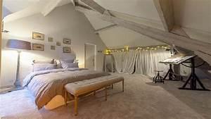 Deco Maison Avec Poutre : d co chambre avec poutre apparente ~ Zukunftsfamilie.com Idées de Décoration