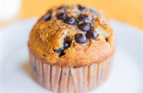 banana chocolate chip muffins recipe sparkrecipes