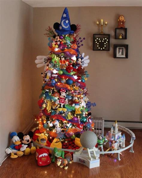 disney christmas tree popsugar family
