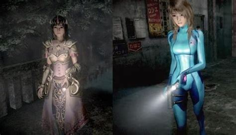 fatal frame maiden  black waters alternative costumes