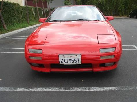 how cars engines work 1991 mazda rx 7 instrument cluster find used 1991 mazda rx7 convertible 5 speed rotary motor california car in