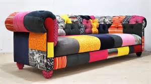 patchwork sofa color patch chesterfield patchwork sofa by namedesignstudio