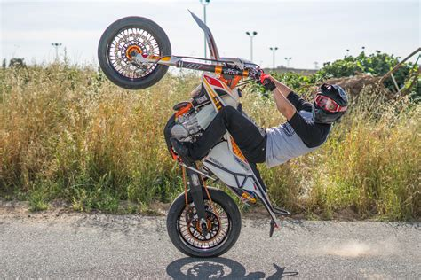 wheelie wednesday supermoto