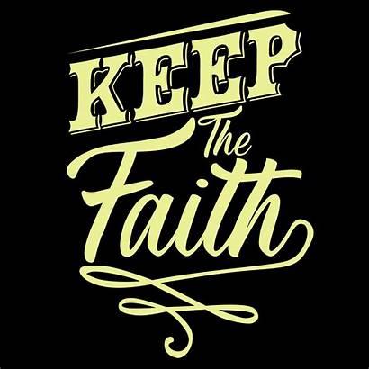 Faith Keep Vector Stripes Healed Clipart Quote