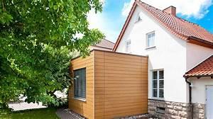 Anbau Fertighaus Kosten : flachdachanbau holzhaus schl sselfertig bauen planen ~ Lizthompson.info Haus und Dekorationen