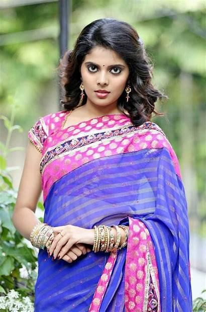 Shravya Heroine Actress Saree Wallpapers Movieraja Nadigai