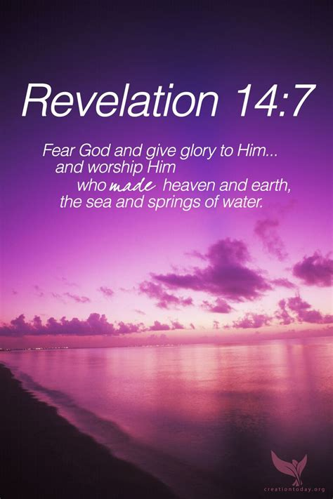 """Revelation 147 """"fear God And Give Glory To Him And. Fashion Quotes Related To Life. Beach Quotes On Signs. Bible Quotes Goodness. Fashion Quotes Shoes. Travel Quotes United States. Disney Quotes That Make You Cry. Music Quotes Edm. Music Quotes Hunter S Thompson"""