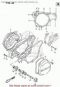 Suzuki Rm125 1999  X  Crankcase Cover