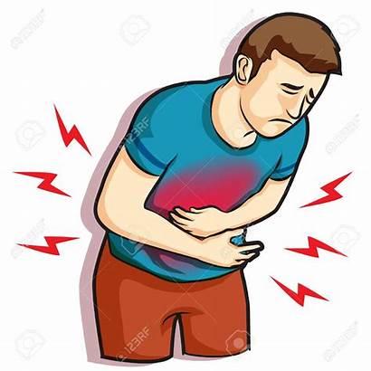 Pain Stomachache Belly Ache Hurt Touching Having