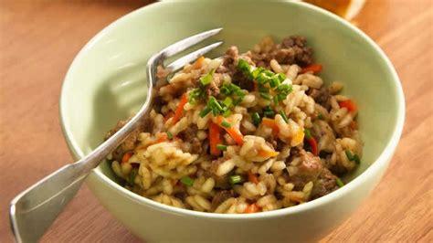 cuisiner viande hach馥 riz et viande hachée au cookeo un vrai délice fait avec le cookeo