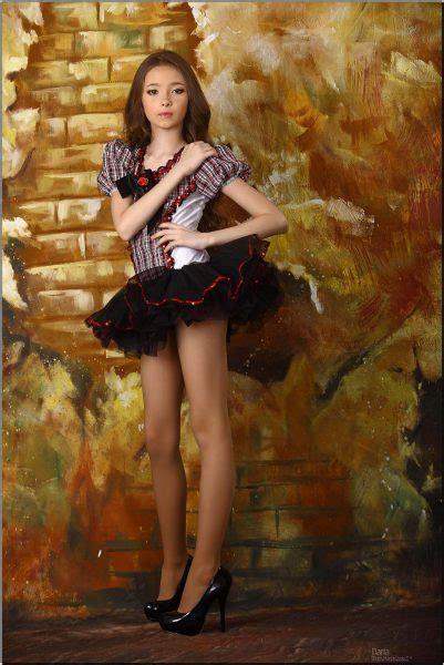 Mmodel Teen Modeling Daria M Blue Dress Template Printable