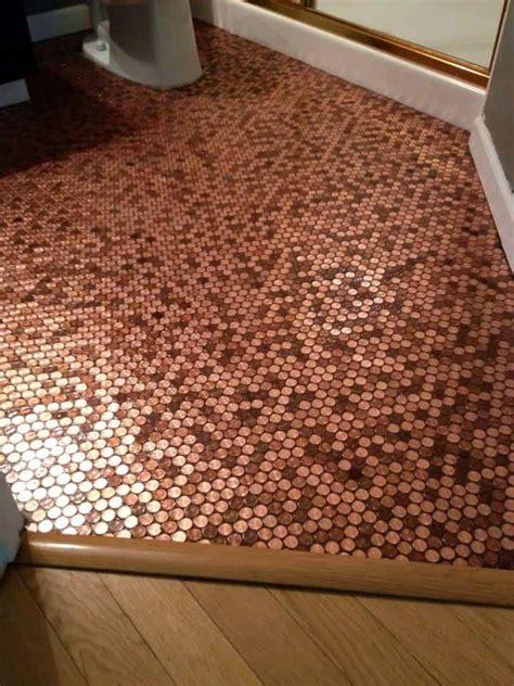 brandons penny bathroom floor pretty purple door