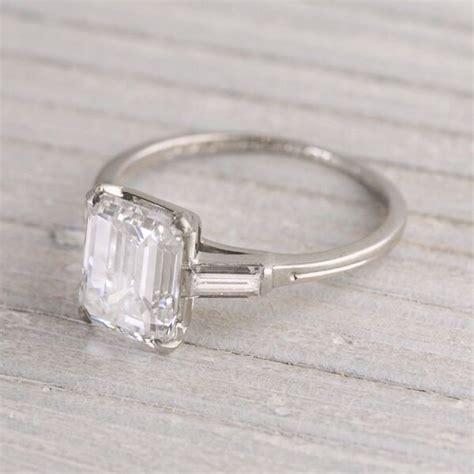 vintage engagement ring simple but weddings