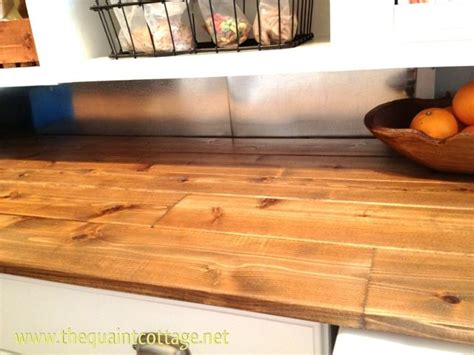 diy counters   splash   budget cool stuff laundry room wood countertops home