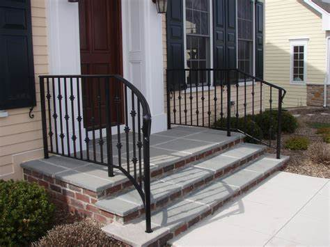 Our customized iron railings solutions include: Economy Iron Products | Outdoor stair railing, Railings ...