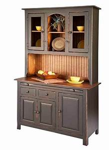 amish, handcrafted, -, colonial, hooiser, hutch