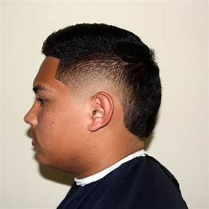 Faux Hawk Fade With Tail | newhairstylesformen2014.com
