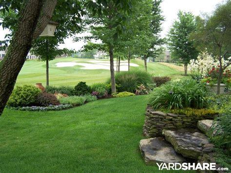 landscaping ideas for big yards landscaping ideas gt golf course garden yardshare com