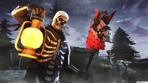 fortnite skull trooper hd wallpaper